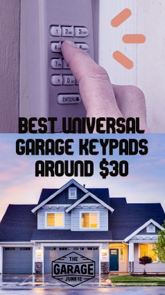 Best Universal Garage Keypads Around $30 - In this informational article, we identified some important features and reviewed 4 universal garage keypads to see how they stacked up for things like compatibility and value.