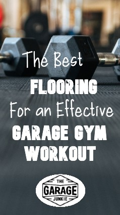 The Best Flooring For an Effective Garage Gym Workout - A key part of building your own garage gym is having flooring that will stand up to the exercises you plan to put yourself through. What are some options for durability, shock-absorption, and traction?