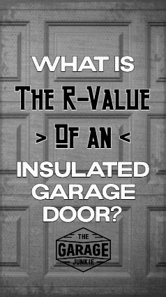What is the R-Value of an Insulated Garage Door? Keeping your garage insulated via the garage door is a must if you do any kind of work in any extreme temperatures. But what is R-Value? And what does it tell you about how well your door is insulated?