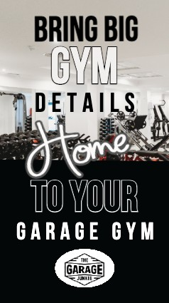 """Bring Big Gym Details Home to Your Garage Gym - Commercial gyms have put time and money into researching what puts a gym environment over the top. What are """"Big Gym"""" Details? Little things that you can learn from and bring home to your own garage gym to add atmosphere and functionality."""