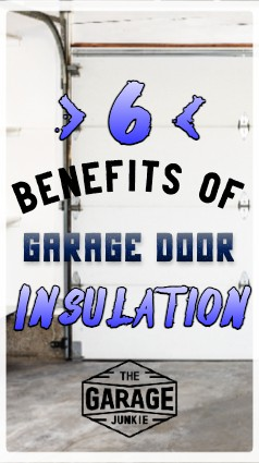 6 Benefits of Garage Door Insulation - The benefits of insulating your garage door include dampening sound, lowering power bills with less heat or cool escaping, and providing better climate control for your workspace and your storage during months with extreme temperatures.