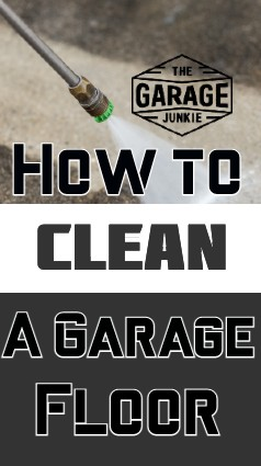 How to Clean a Garage Floor - Does your garage floor have some grime and mystery stains that you wish weren't there? Read on for ways to make your concrete clean again.