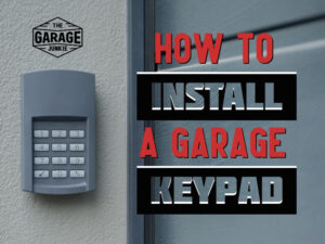 How to Install a Garage Keypad (1)