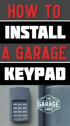 How to Install a Garage Keypad - To install, first sync the keypad to the garage door opener. Next, determine where to attach the keypad to the side of your home near the garage door. Follow the manufacturer's instructions to program your entry code and other features.