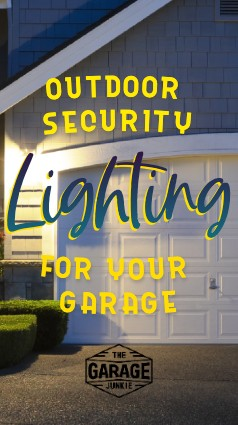 Outdoor Security Lighting For Your Garage - You store a lot of things of value in your garage, whether you realize it or not. And dark corners around the sides of your house can leave your garage vulnerable to break-ins. Which types of outdoor security lighting might be best for you?