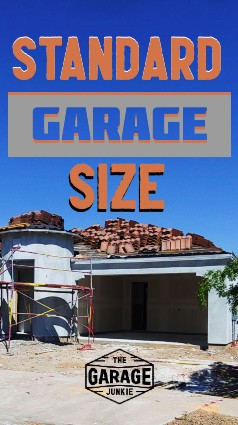 Standard Garage Size - What is a standard garage size for the average residential home in the U.S.? Size varies by the year the home was built, but the ranges are fairly easy categorize.